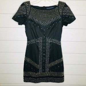 French Connection Sparkle Beaded Dress Size 2